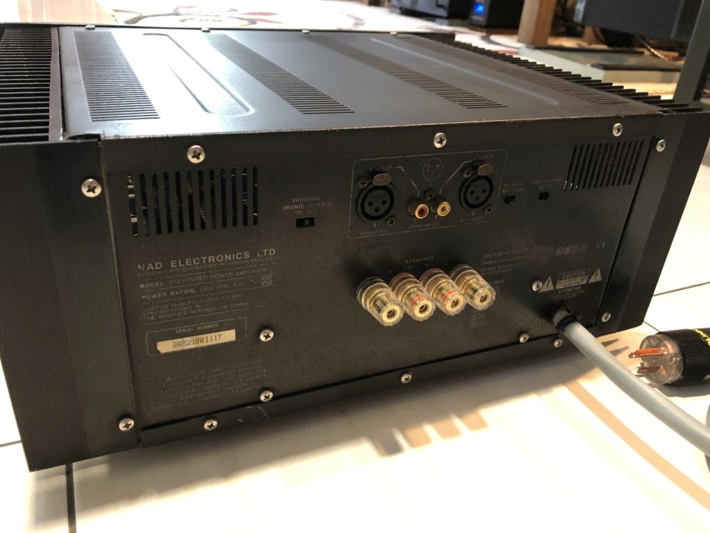 NAD 218THX power amp Img_3911
