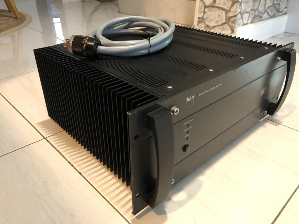 NAD 218THX power amp Img_3912