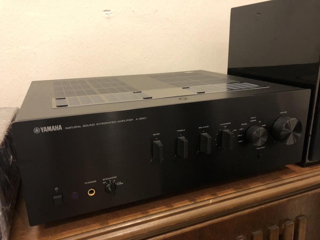 yamaha A-S501 Amplifier Img_5710