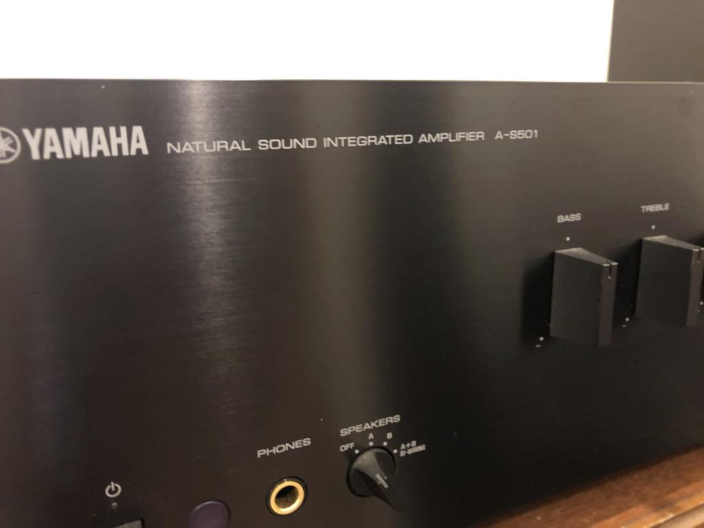 yamaha A-S501 Amplifier Img_5711
