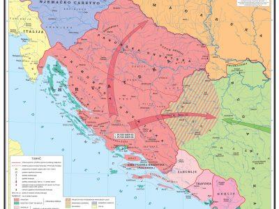 Granice Srbije i Kosova kroz vrijeme Hrv_u_10