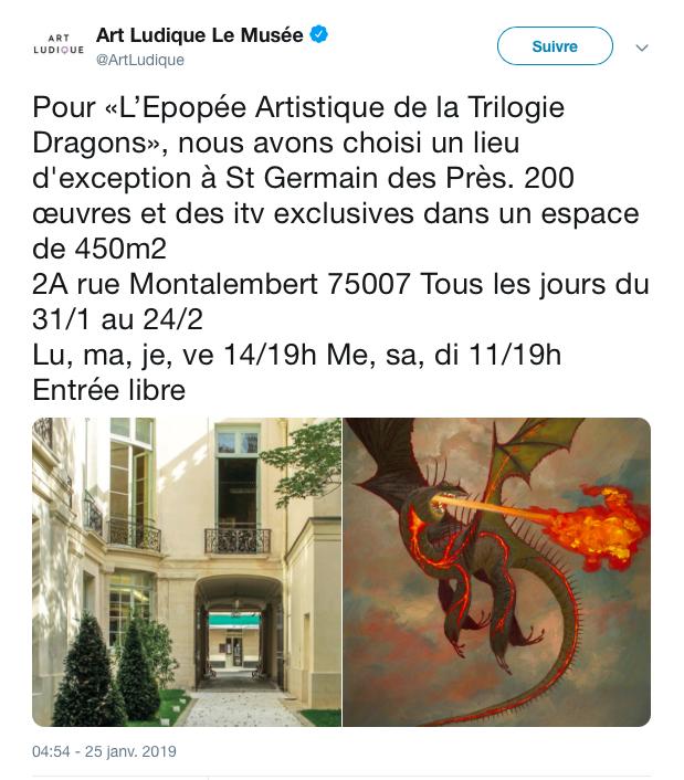 """Exposition """"L'Epopée Artistique de la Trilogie Dragons"""" Captur10"""