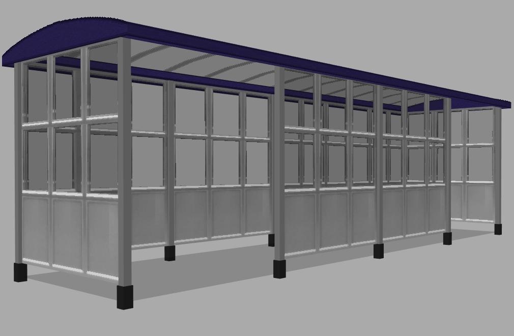 Station shelter Shelte10