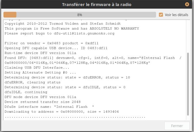 Demande d'aide pour installer OpenTx 2.3.10 sur ma Horus X10S Express encore sous FrSky 2.0.06 [résolu] Tmp37
