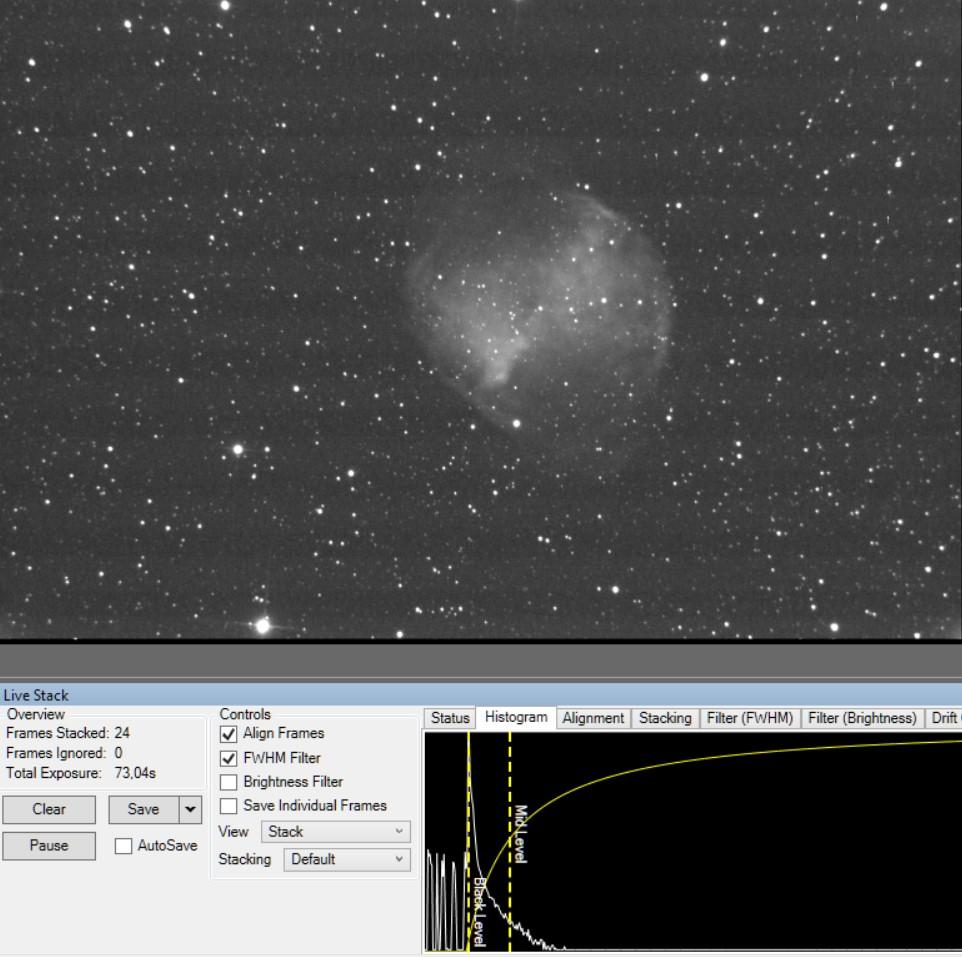 Riches soirées: M92, ngc6543, Voie lactée, Visuel assisté ... Mm2710