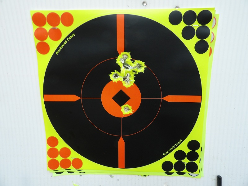 Coned Muzzle Accuracy 50 yards 100_1910