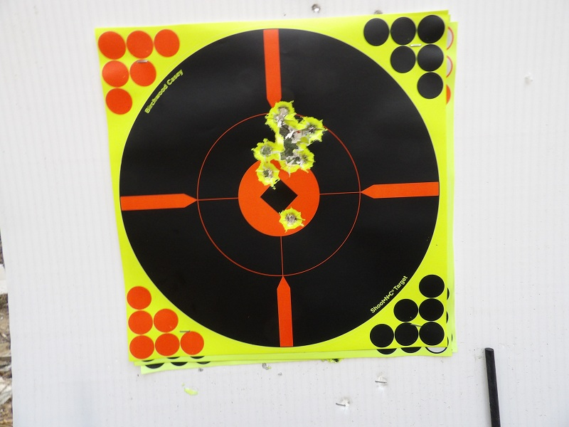 Coned Muzzle Accuracy 50 yards 100_2010