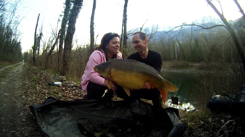 Premières pêche de l' année. 11kg10
