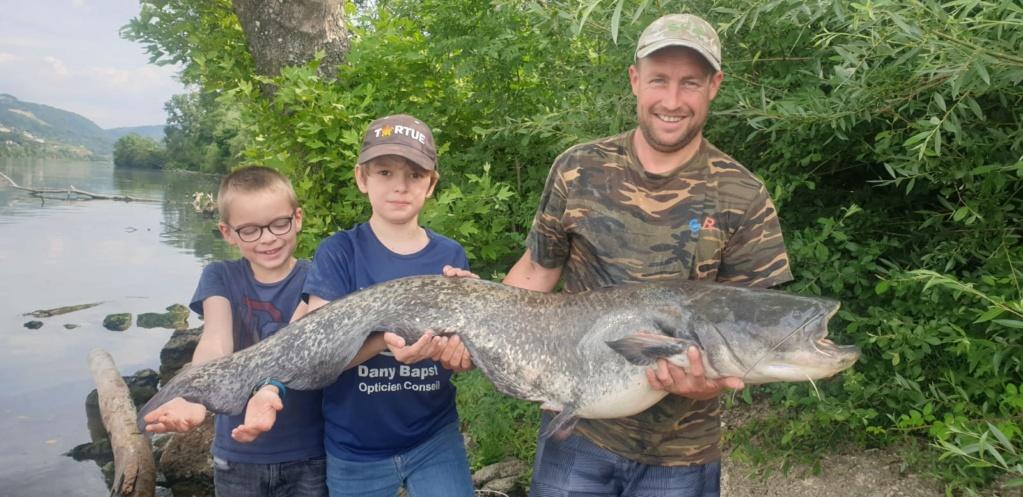 Première sortie sur le grands rhône et premires fishs 13kg10