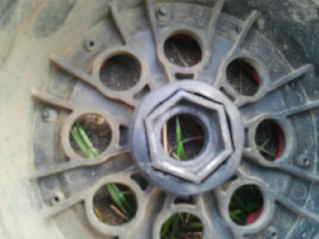 hexagone de roue qui chauffe Photo011