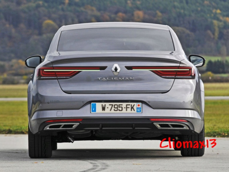 2020 - [Renault] Talisman restylée - Page 13 Talism10