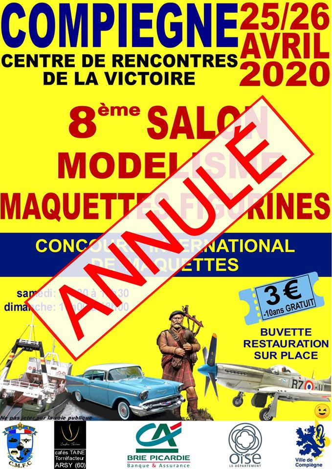 Des nouvelles de l'expo de Compiègne 2020 *** Expo reportée ! 89356810