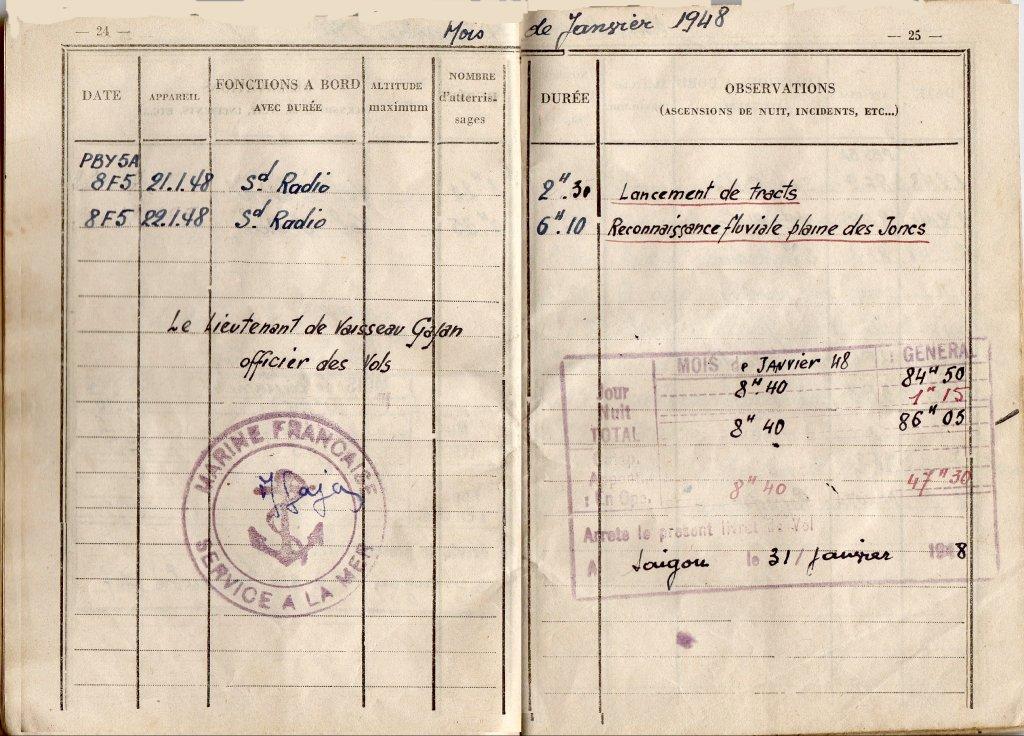 [Opérations de guerre] INDOCHINE - TOME 11 - Page 25 19480110