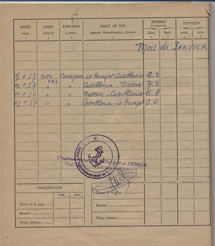 [Les flotilles et escadrilles] Escadrille 31 S Orly 1948 - Page 2 19570110