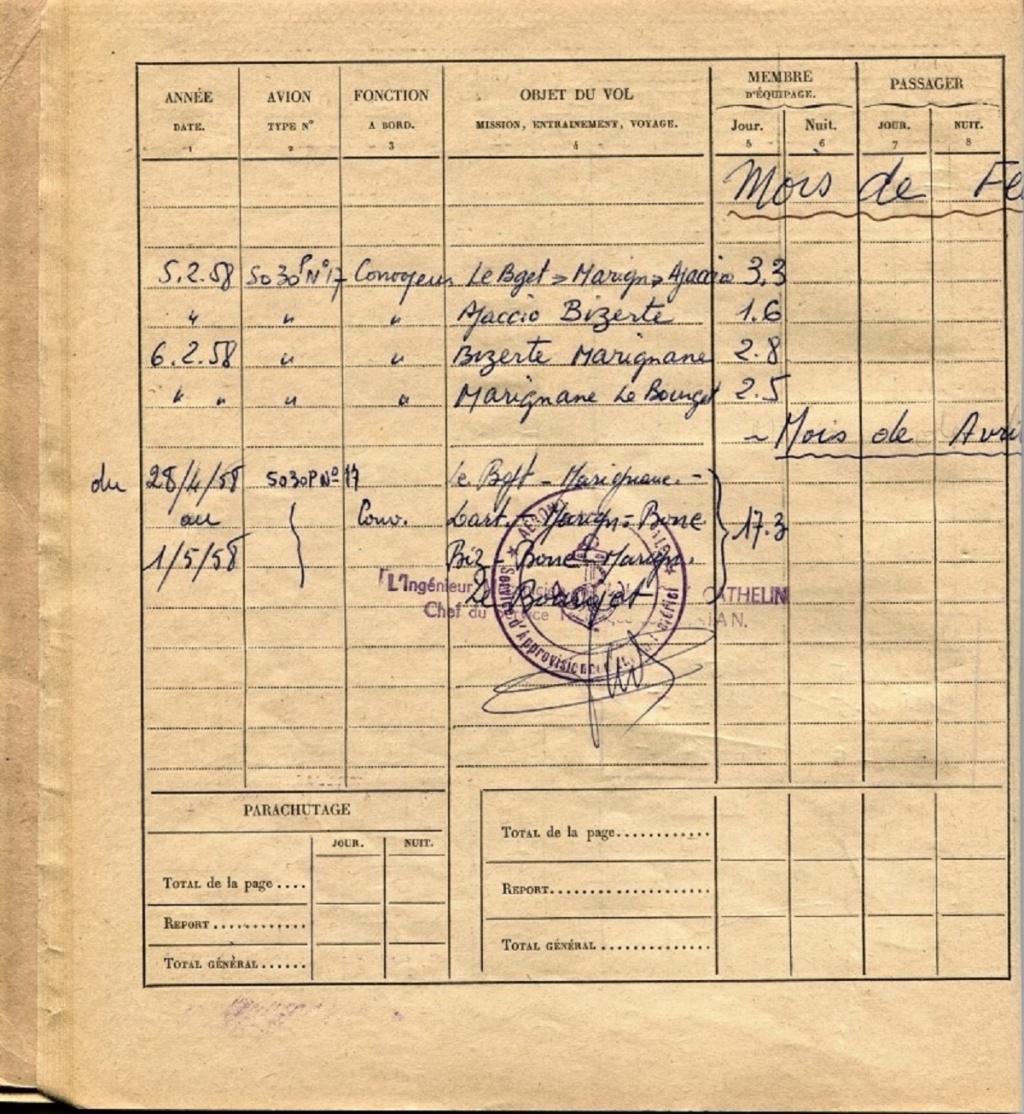 [Les flotilles et escadrilles] Escadrille 31 S Orly 1948 - Page 2 19580210