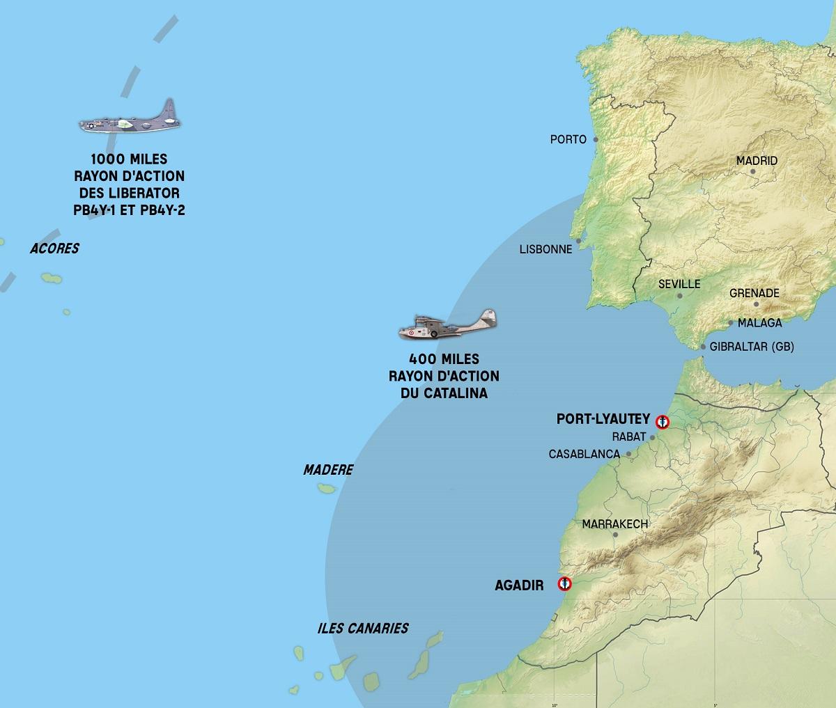 [ Histoires et histoire ] La chasse aux U-Boote à partir de Port Lyautey et d'Agadir 1_cart10