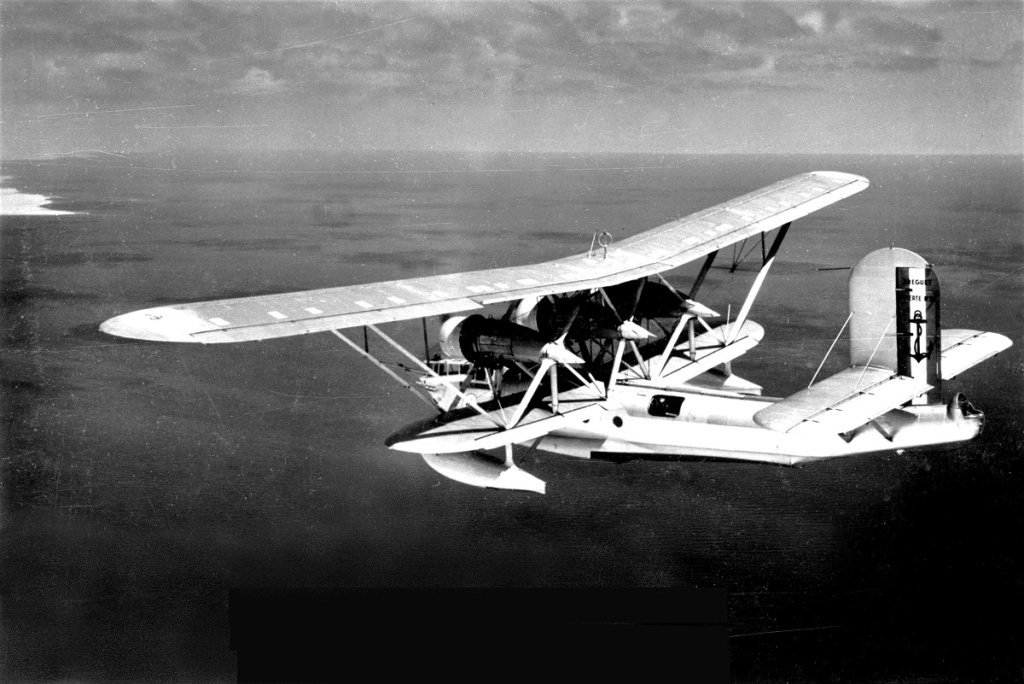 [Les anciens avions de l'aéro] L'HYDRAVION BREGUET BR.521 BIZERTE 25632-10