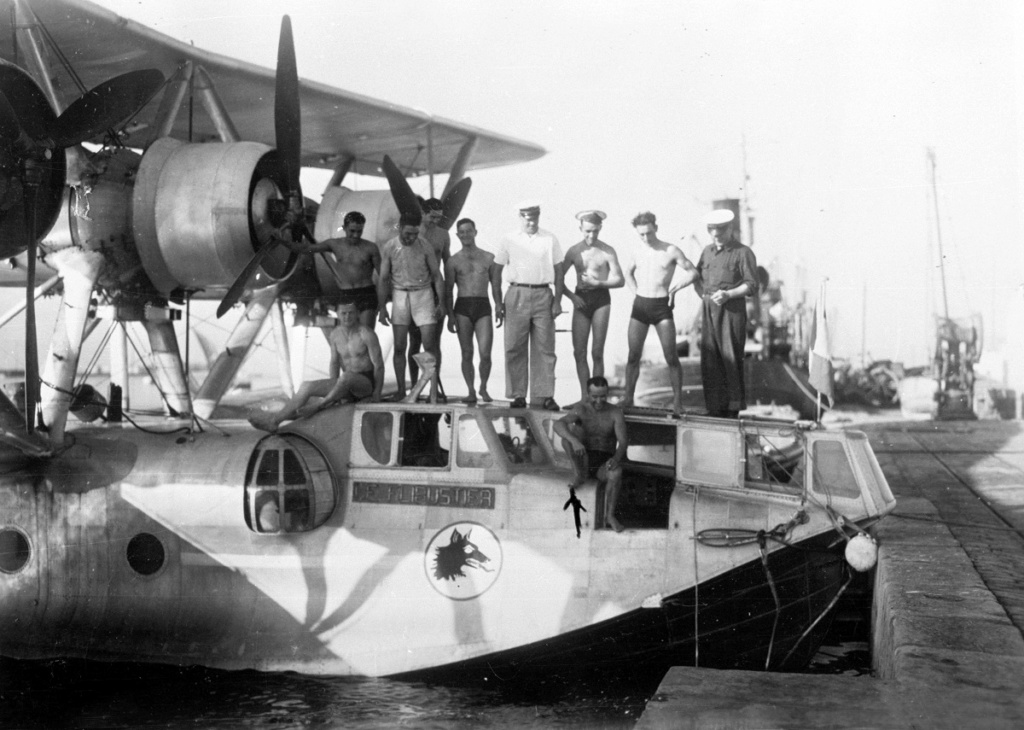 [Les anciens avions de l'aéro] L'HYDRAVION BREGUET BR.521 BIZERTE 32716-10