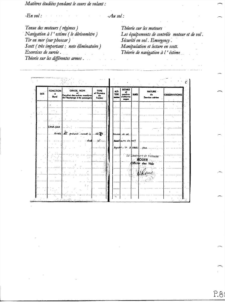 [ Aéronavale divers ] Les Mémoires de Jacques Sinquin - Page 3 Ap_8910