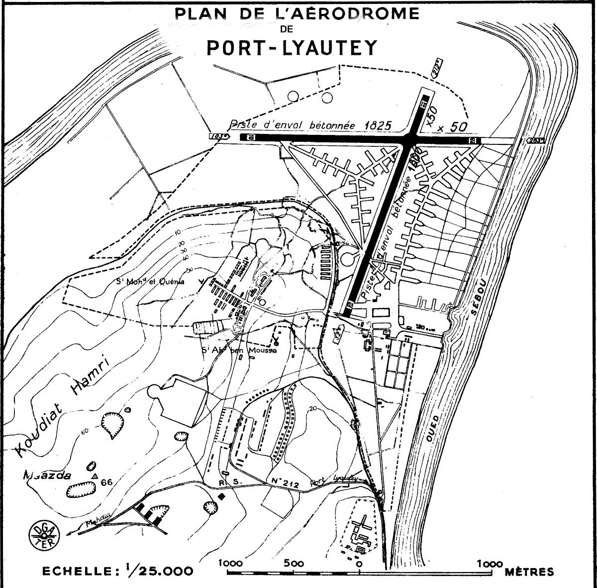 [LES B.A.N.] PORT LYAUTEY (MAROC) - Page 5 Carte_14