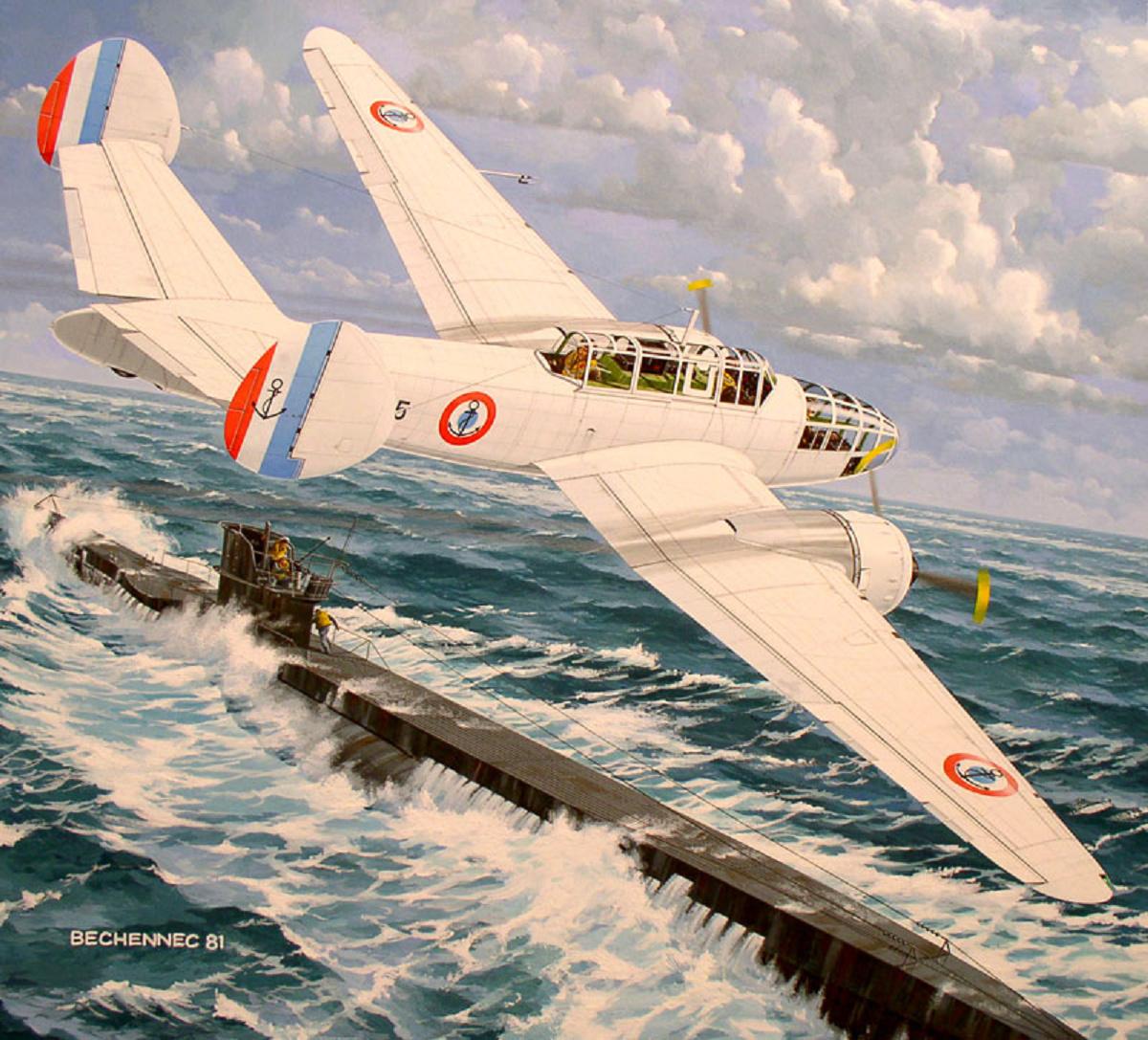 [Les anciens avions de l'aéro] Bloch / SNCASO  MB175-T Fictio10