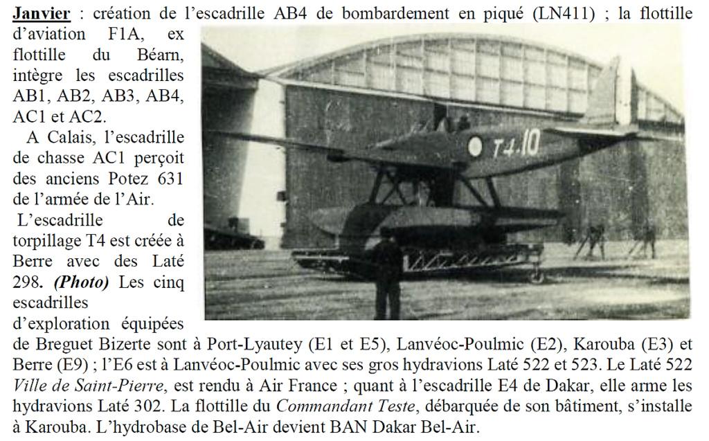 [ Aéronavale divers ] Il y a 80 ans - L'Aéronautique navale en guerre  Janvie10