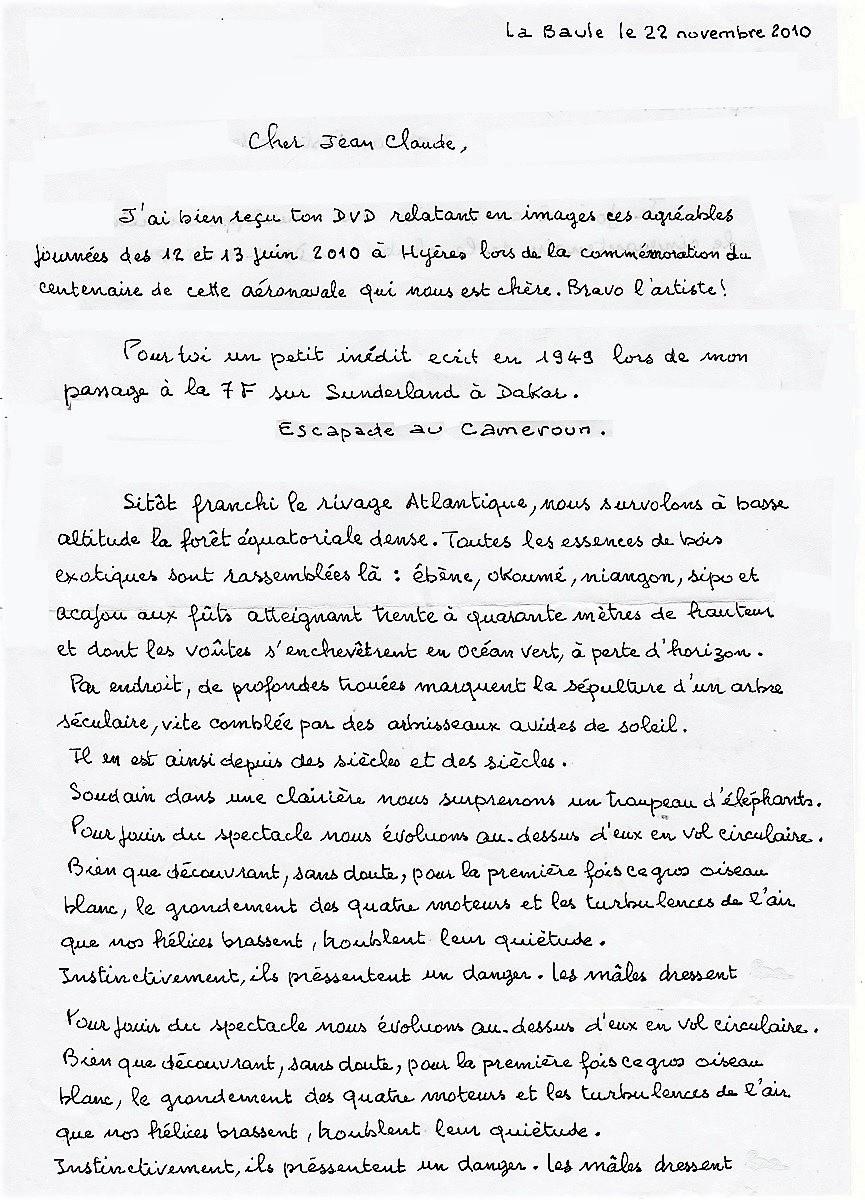 [LES B.A.N.] DAKAR BEL-AIR et OUAKAM - Page 30 Lettre11