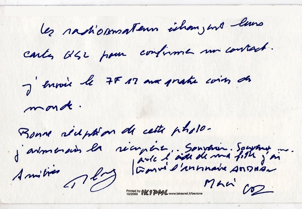 LA SPÉCIALITÉ DE RADIO - Page 8 Mb30311
