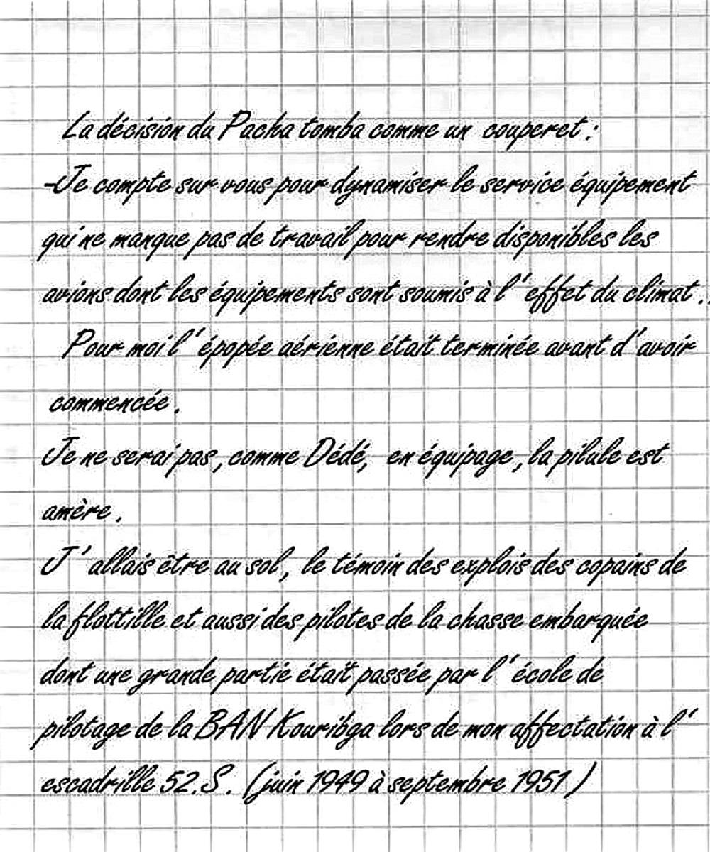 [ Aéronavale divers ] Les Mémoires d'André Digo  - Page 7 Pilule10