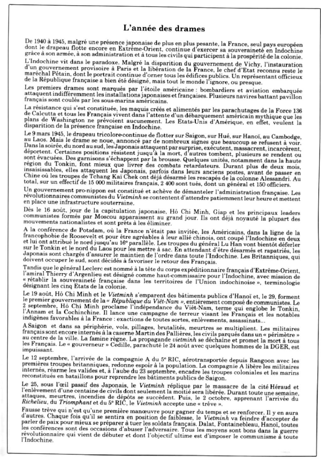 [Opérations de guerre] INDOCHINE - TOME 10 - Page 35 Recnqu13