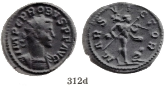 Un revers enigmatique sur un aurélianus de Probus Bastie12