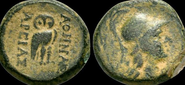 Monnaie grecque  Chouet11