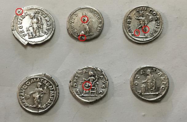 Authentification lot de monnaies.... Revers10