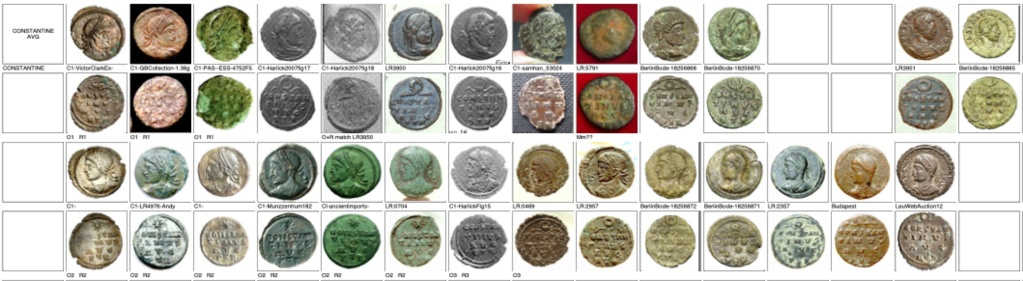 les monnaies anépigraphes pour les vicennales de Constantin Ier à Trèves Trier_12