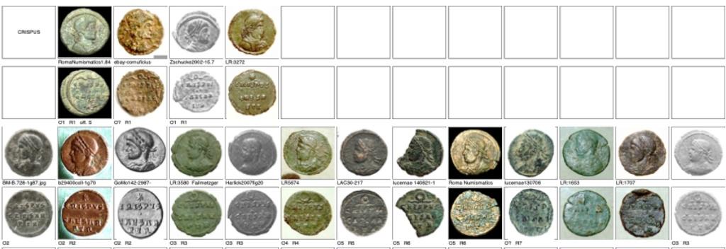 les monnaies anépigraphes pour les vicennales de Constantin Ier à Trèves Trier_13