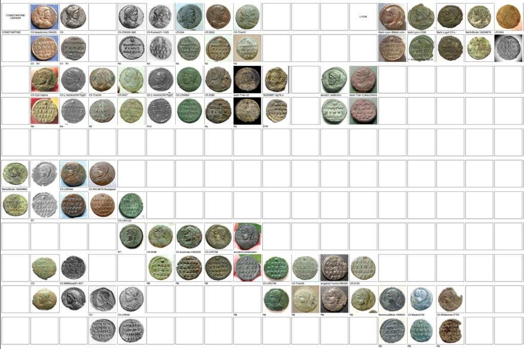 les monnaies anépigraphes pour les vicennales de Constantin Ier à Trèves Trier_14
