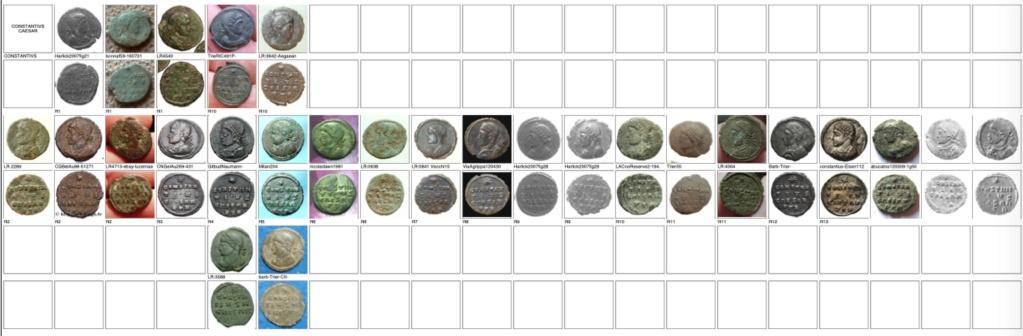 les monnaies anépigraphes pour les vicennales de Constantin Ier à Trèves Trier_15