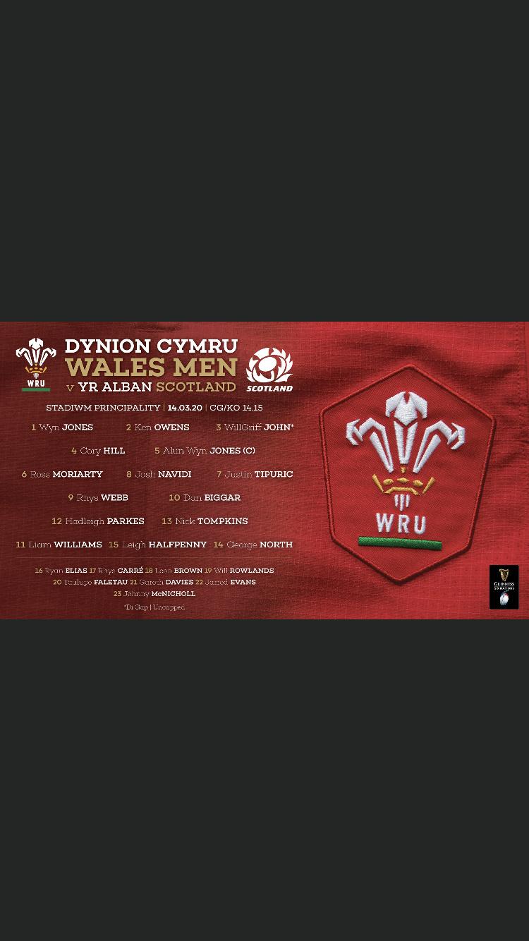 Wales v Scotland Saturday 14th March 2020 - Page 2 2d91f410