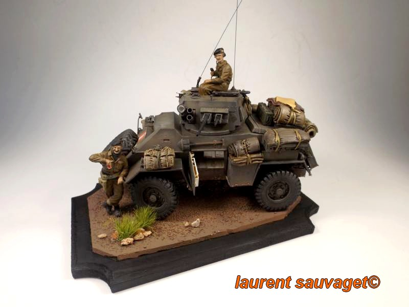 [laurent] Humber Armoured Car MkIII 1/35 [bronco models] - TERMINE - Page 3 Humber10
