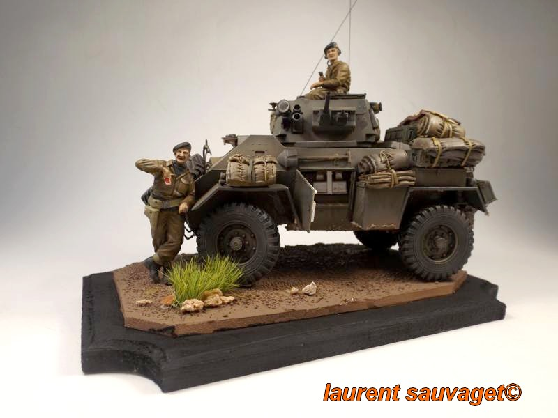 [laurent] Humber Armoured Car MkIII 1/35 [bronco models] - TERMINE - Page 3 Humber11