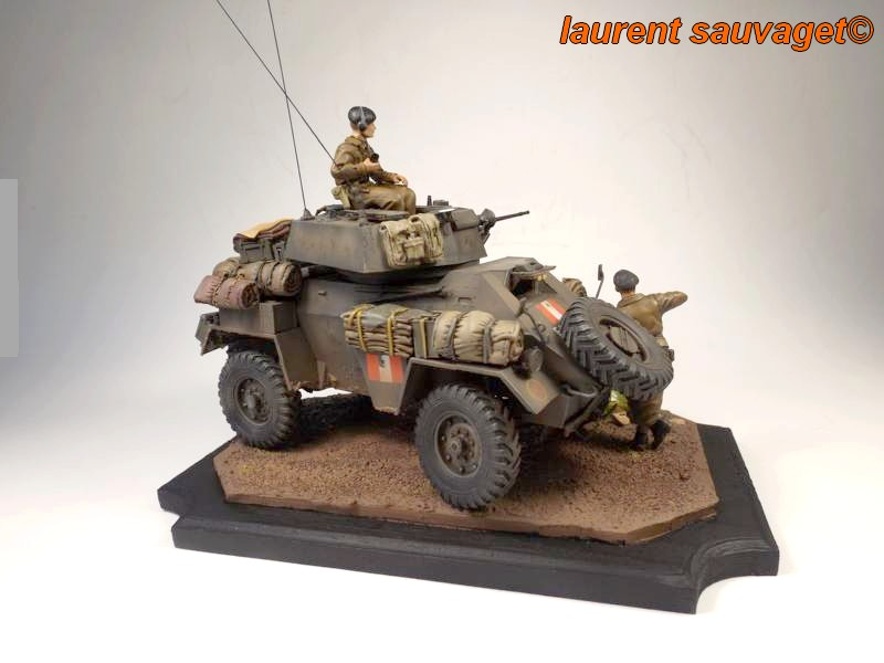 [laurent] Humber Armoured Car MkIII 1/35 [bronco models] - TERMINE - Page 3 Humber12
