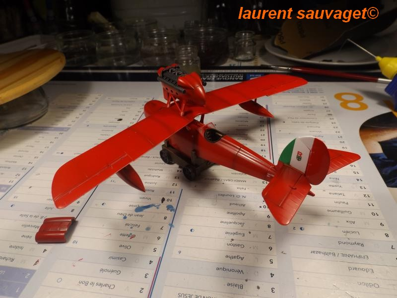 "SAVOIA S.21F ""Porco Rosso"" K800_436"