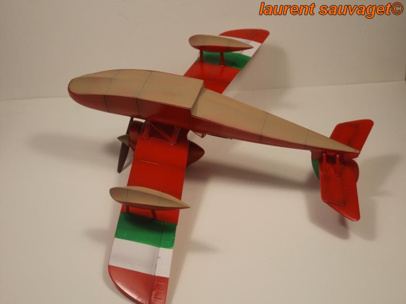 "SAVOIA S.21F ""Porco Rosso"" K800_446"