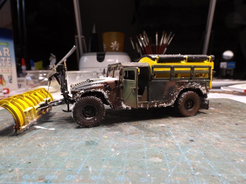 Humvee snow truck K800_678