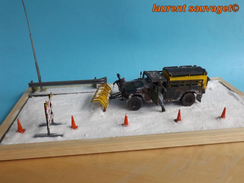 Humvee snow truck Snow_t10