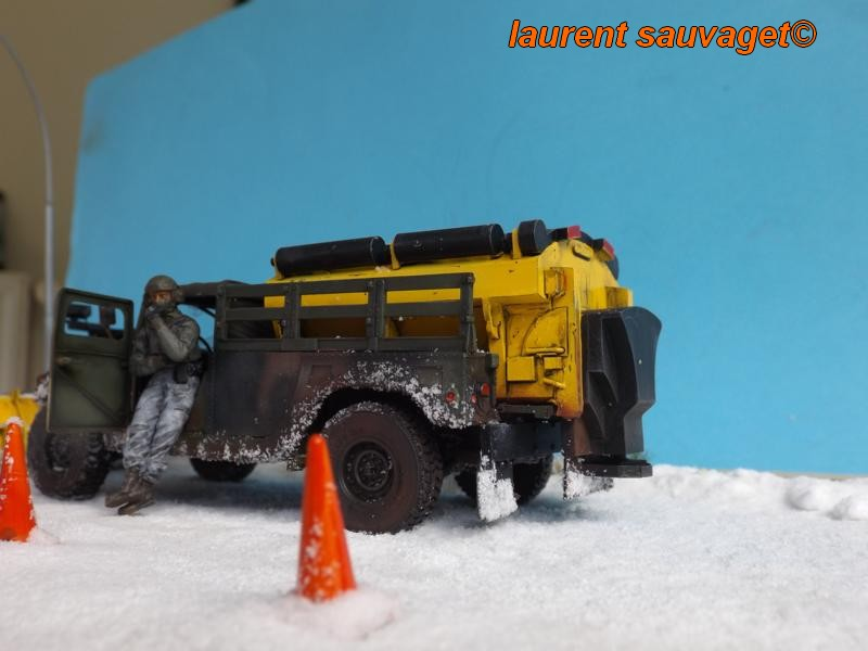 Humvee snow truck Snow_t14