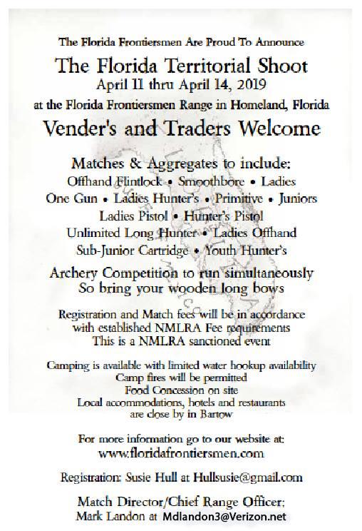 Florida Territorial Shoot Ffm10