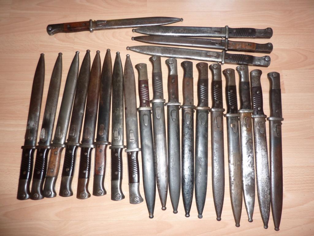 Baionnettes Mauser 84/98 3e type 84983411
