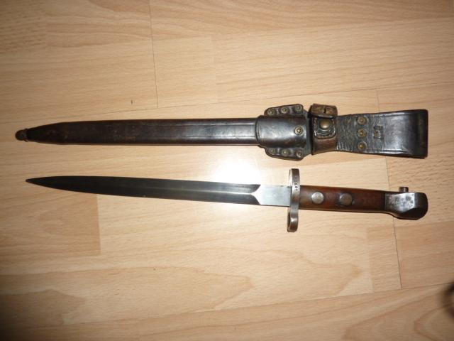 Baionnettes Manlicher Pays-Bas M.1895 de Cavalerie (1918 ) Mannli14