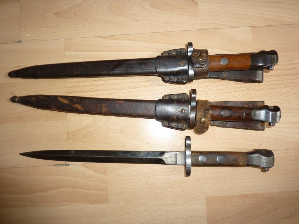 Baionnettes Manlicher Pays-Bas M.1895 de Cavalerie (1918 ) Mannli16